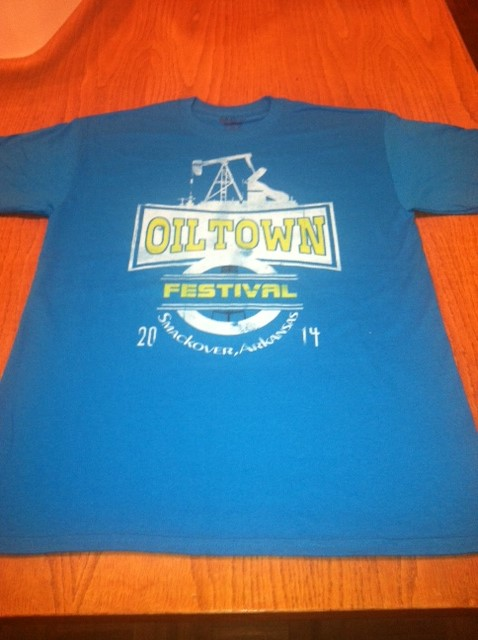 2014 Oil Town T-Shirt | Front