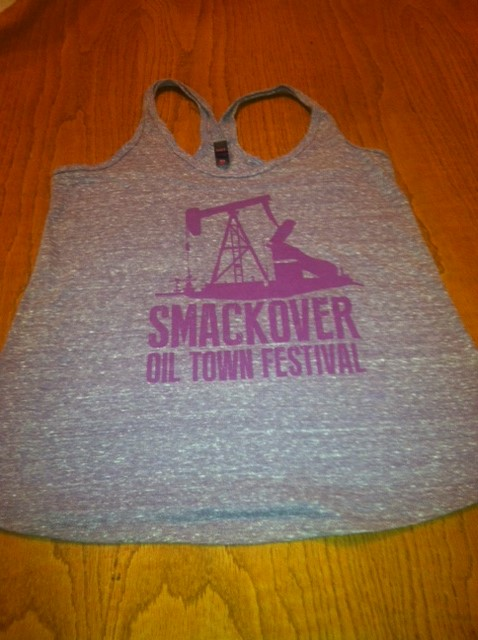 2014 Oil Town Tank | Gray/Purple