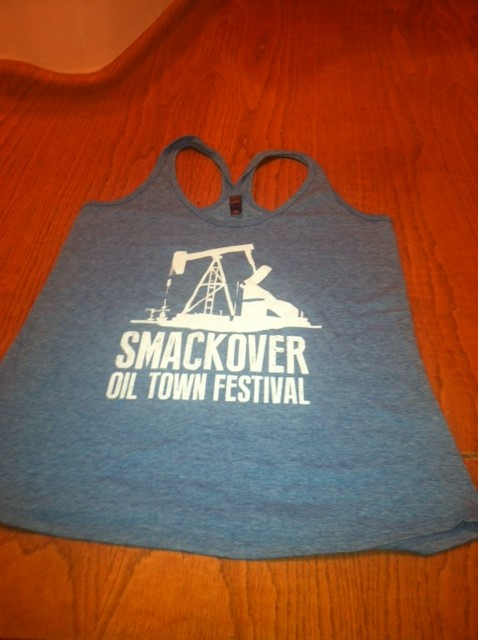 2014 Oil Town Tank | Gray/White